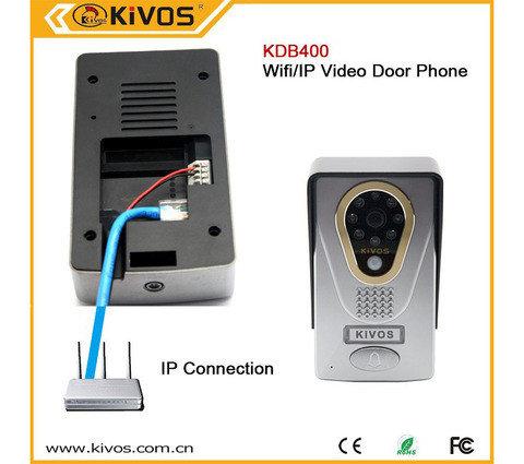 Видеодомофон беспроводной со связью через смартфон KIVOS KDB400, фото 2