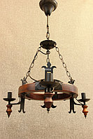 Подвесная люстра на 3 рожка, фото 1