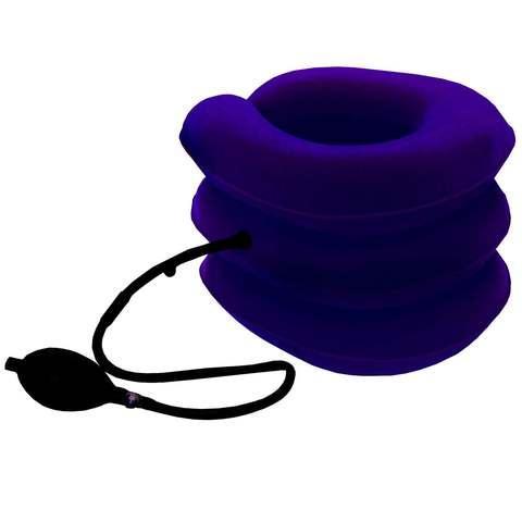 Ортопедическая подушка - корсет для шеи надувной YZB0204