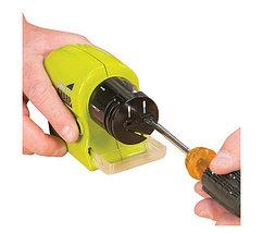Точилка для ножей электрическая беспроводная Swifty Sharp 4 в 1, фото 2