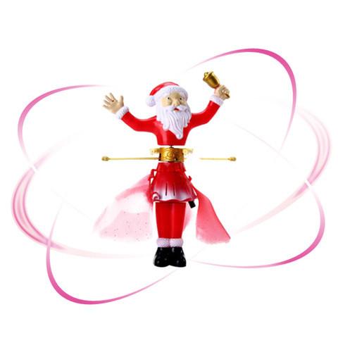 Новогодняя игрушка летающая Magic Santa Claus с пультом управления
