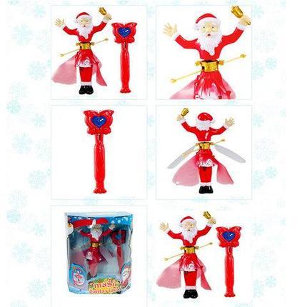 Новогодняя игрушка летающая Magic Santa Claus с пультом управления, фото 2