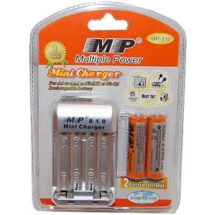 Зарядное устройство для аккумуляторов AA/ААА Multiple Power MP-810, фото 2