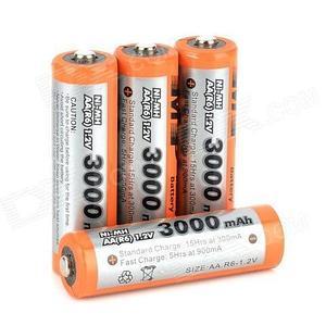 Аккумуляторы [перезаряжаемые батарейки] Multiple Power (ААА / 900 mAh)