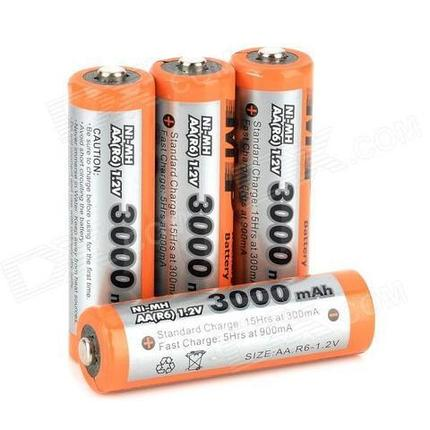 Аккумуляторы [перезаряжаемые батарейки] Multiple Power (ААА / 1250 mAh), фото 2