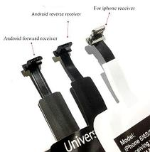 Адаптер [антенна] для беспроводной зарядки смартфонов внешний Saitake QI (с разъемом microUSB), фото 2