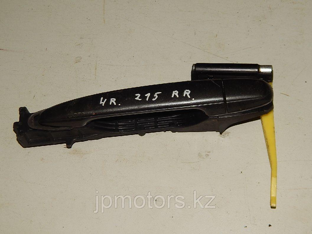 Ручка наружная задней правой двери toyota 4runner 215 2003-2009