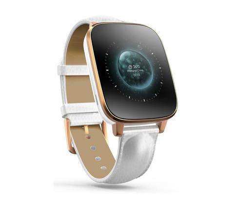 Умные часы [Smart Watch] Zeblaze Crystal (Золотой с белым)