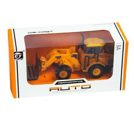 Игрушечная строительная машина JIN SHENG HAO 6601A (Погрузчик), фото 2