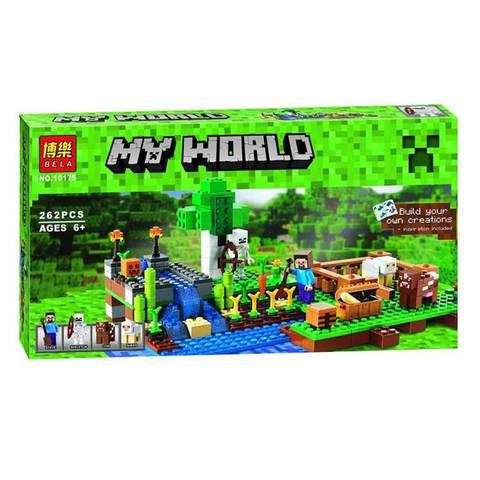 Конструктор BELA My World [250+ деталей] (10175)