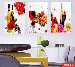 Триптих студии ALMI Handicraft [комплект из 3-х картин] (PCT-04), фото 3
