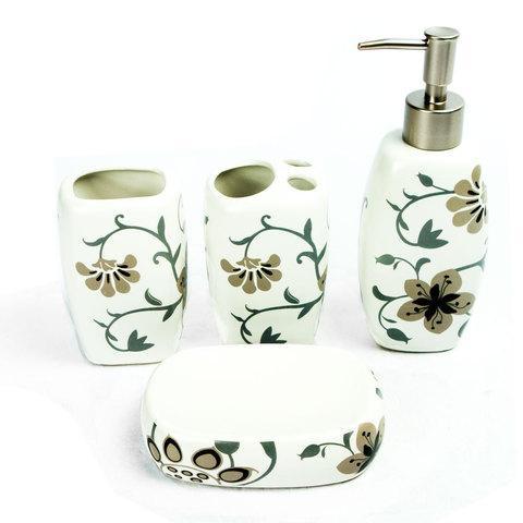 Набор керамических аксессуаров для ванной «Табыс» (01)