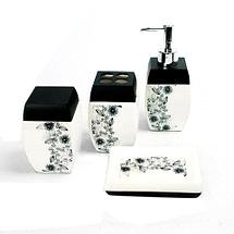 Набор керамических аксессуаров для ванной «Табыс» (01), фото 2