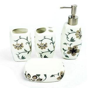 Набор керамических аксессуаров для ванной «Табыс» (03)
