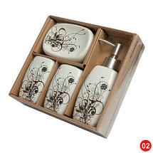 Набор керамических аксессуаров для ванной «Табыс» (04), фото 2
