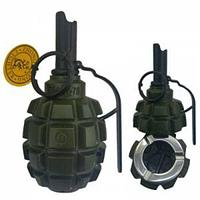 Пепельница-пьезозажигалка в виде ручной гранаты газовая ZHONG LONG (ZL813 «осколочная граната»)