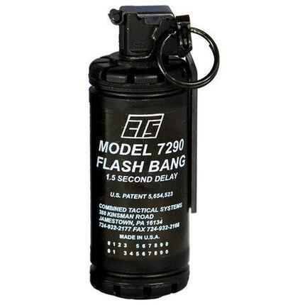 Пепельница-пьезозажигалка в виде ручной гранаты газовая ZHONG LONG (ZL857 «световая граната»), фото 2