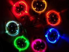 Шнурки со светодиодной подсветкой Platube (Оранжевый), фото 2