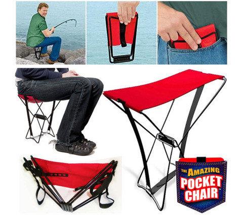 Складной стульчик карманный Amazing Pocket Chair, фото 2