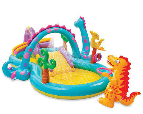 Водный игровой центр INTEX 57135 Dinoland, фото 2
