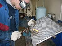 Ремонт радиатора системы охлаждения двигателя в г. Нур-Султан (Астана)