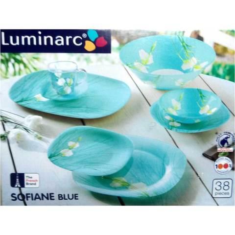 Сервиз столовый Luminarc Sofiane Blue J7880 [38 предметов]