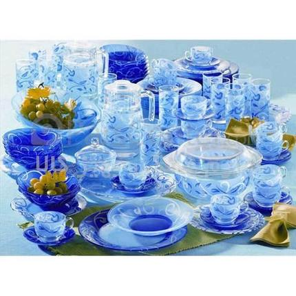 Сервиз столовый Luminarc Plenitude Blue D7349 [38 предметов], фото 2