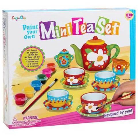 """Набор для творчества """"Свой собственный чайный сервиз"""" ColorDay"""