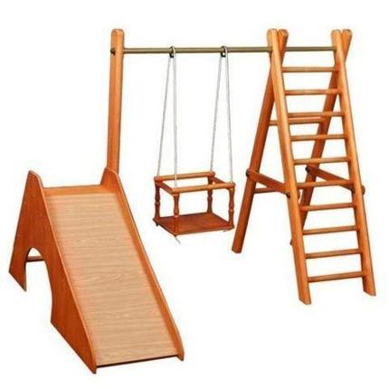 Деревянный игровой комплекс для малышей Карусель ДСК-5Д.01.01, фото 2