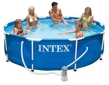 Бассейн каркасный 305x76см + фильтр-насос INTEX 28202/56999
