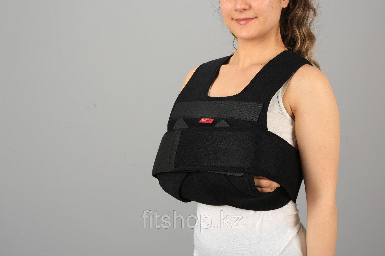 Бандаж поддерживающий при травмах плечевого сустава( повязка Дезо )