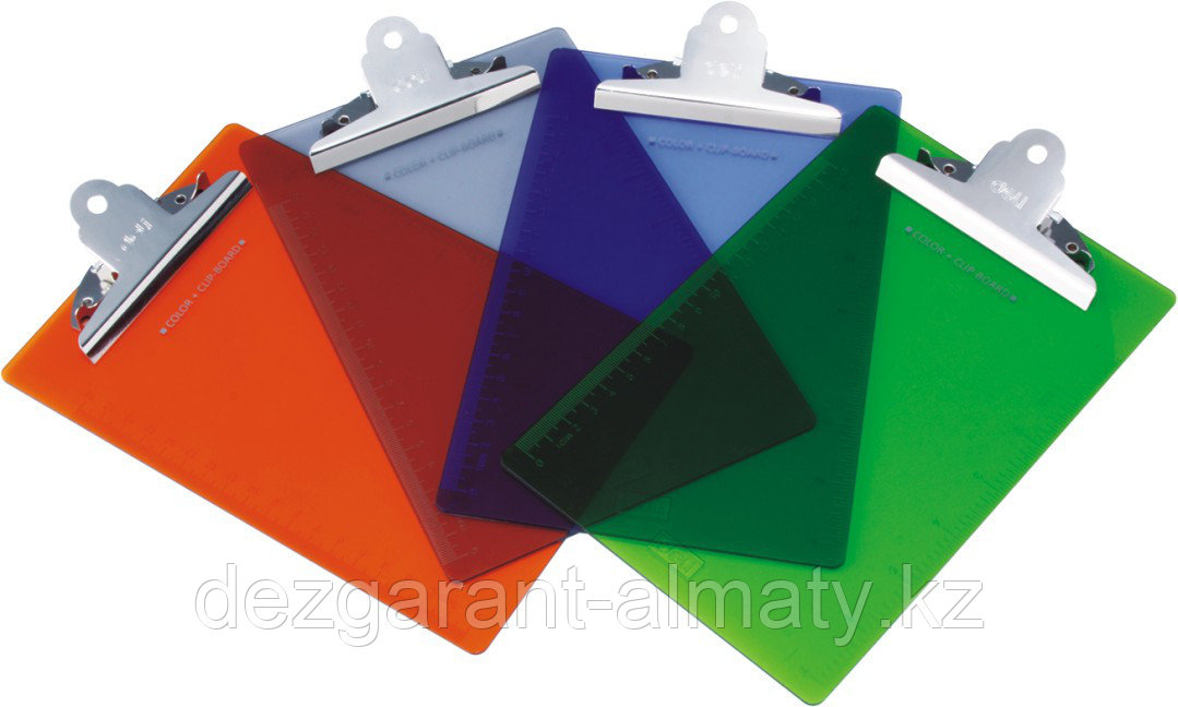 Планшет А5, прозрачный пластик