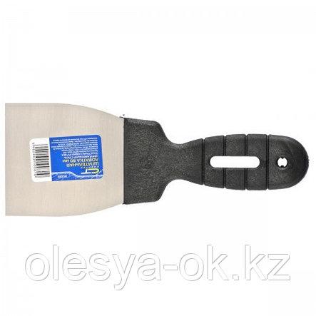 Шпательная лопатка 80 мм, нерж. сталь. СИБРТЕХ, фото 2
