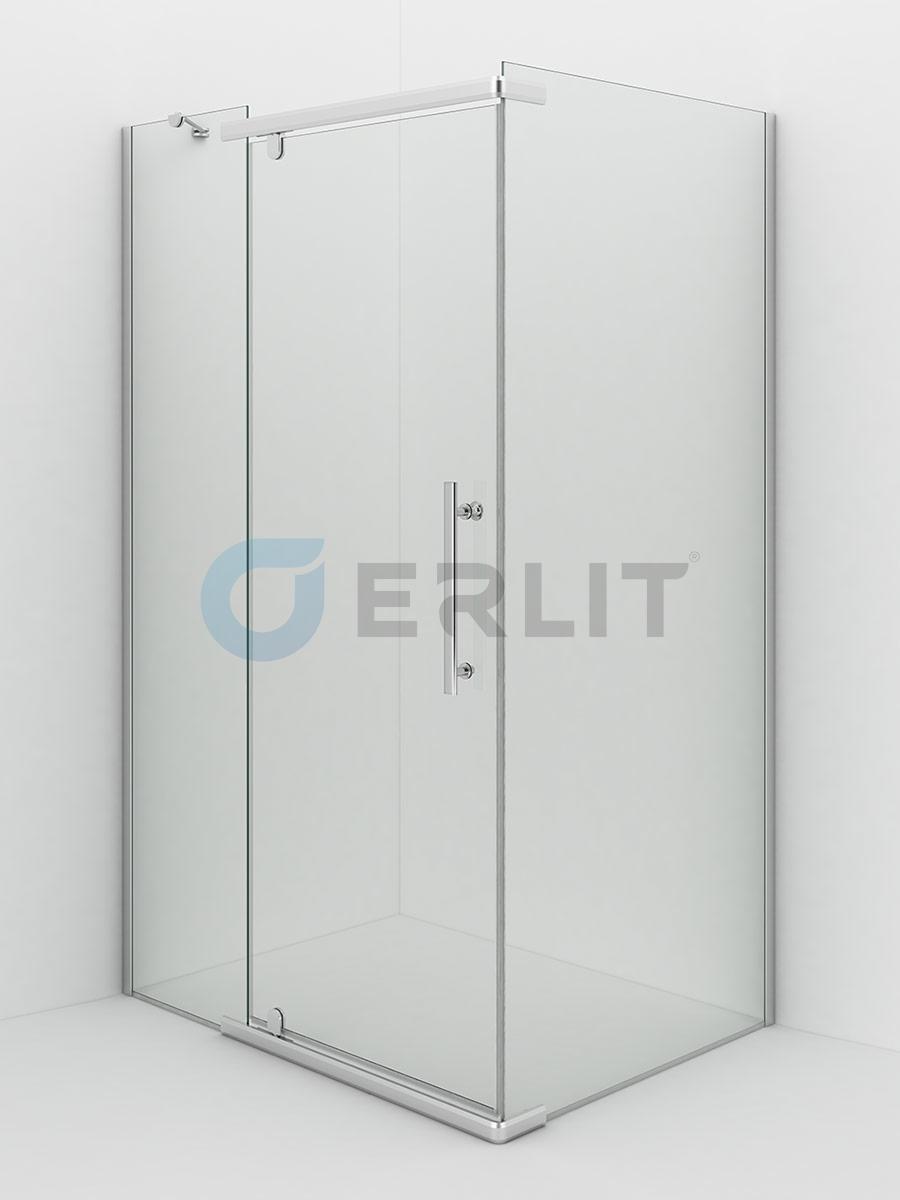 Душевое ограждение ERLIT(Россия)  ER10112H-C1 1200*900*2000 прозрачное стекло