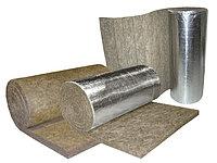 Маты базальтовые прошивные  БСТВ-60-3 2000х1000х100, толщ. 80-120мм ,  в обкладке из стеклоткани с одной стороны