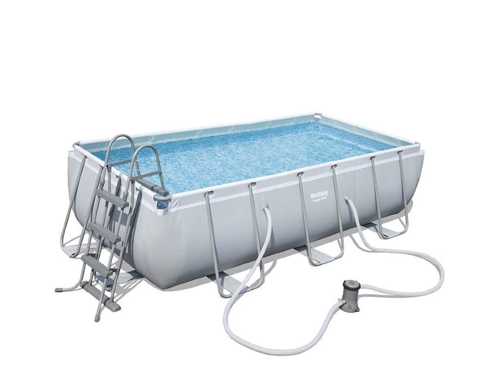 Bestway - бассейн каркасный (404 x 201 x 100 см) с фильтр-насосом и лестницей, 56441