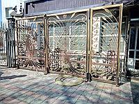 Ворота иранская ковка