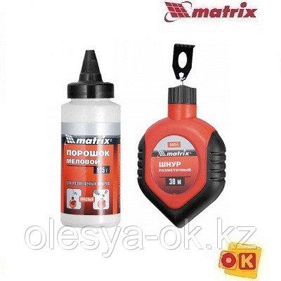 Шнур разметочный, порошок красный MATRIX, фото 2