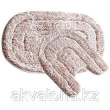 Набор ковриков д/в полиэ. Pink illusi (2 шт) iddis  MID233MS