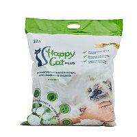Силикагелевый наполнитель алоэ вера 22л Happy Cat plus арт.CP746311