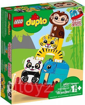 Lego Duplo 10884 Мои первые цирковые животные, Лего Дупло