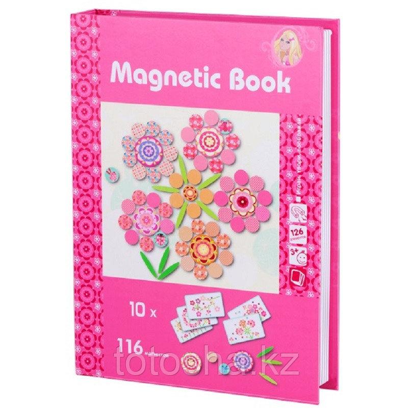 """Magnetic Book Магнитная книга """"Фантазия"""", 126 деталей"""