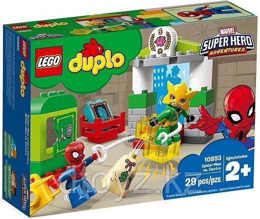 Lego Duplo 10893 Супер Герои: Человек-паук против Электро, Лего Дупло