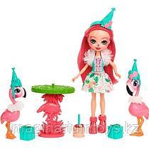 Игровой набор Праздник Фламинго Энчантималс