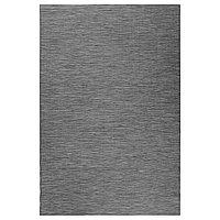 Ковер безворсовый д/дома/улицы ХОДДЕ серый, черный ИКЕА, IKEA