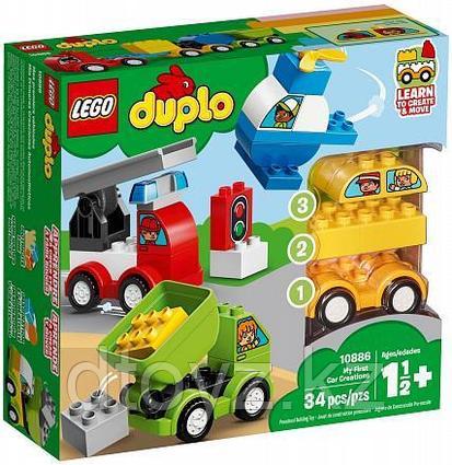 Lego Duplo 10886 Мои первые машинки, Лего Дупло
