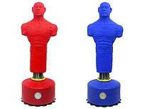 Манекен для отработки ударов (красный, синий)