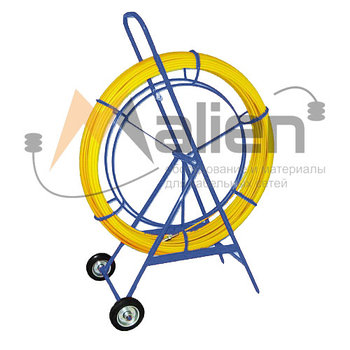 УЗК 9/ 250 Устройство закладки кабеля (D=9 mm. L=250 m), на тележке