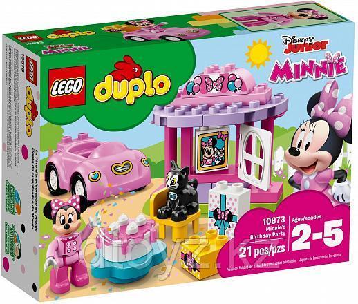 Lego Duplo 10873 День рождения Минни, Лего Дупло