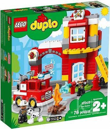 Lego Duplo 10903 Пожарное депо, Лего Дупло